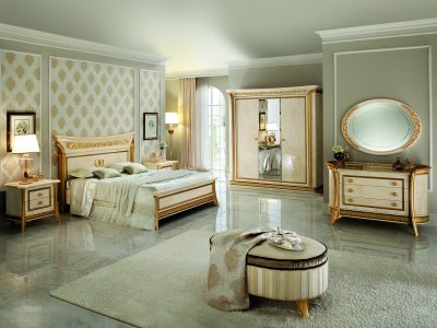Bedroom Furniture Classic Bedrooms QS and KS Melodia Night Bedroom