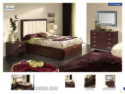 Bedroom  Furniture Beds with Storage Alicante 515 Wenge, M77, E96