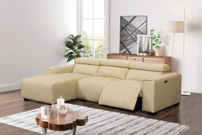 Living Room Furniture Sectionals James Sectional w/Recliner
