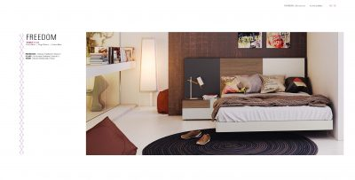 Brands Garcia Sabate, Modern Bedroom Spain YM32