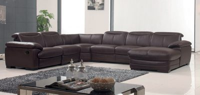 Living Room Furniture Recliners 2146 Sectional