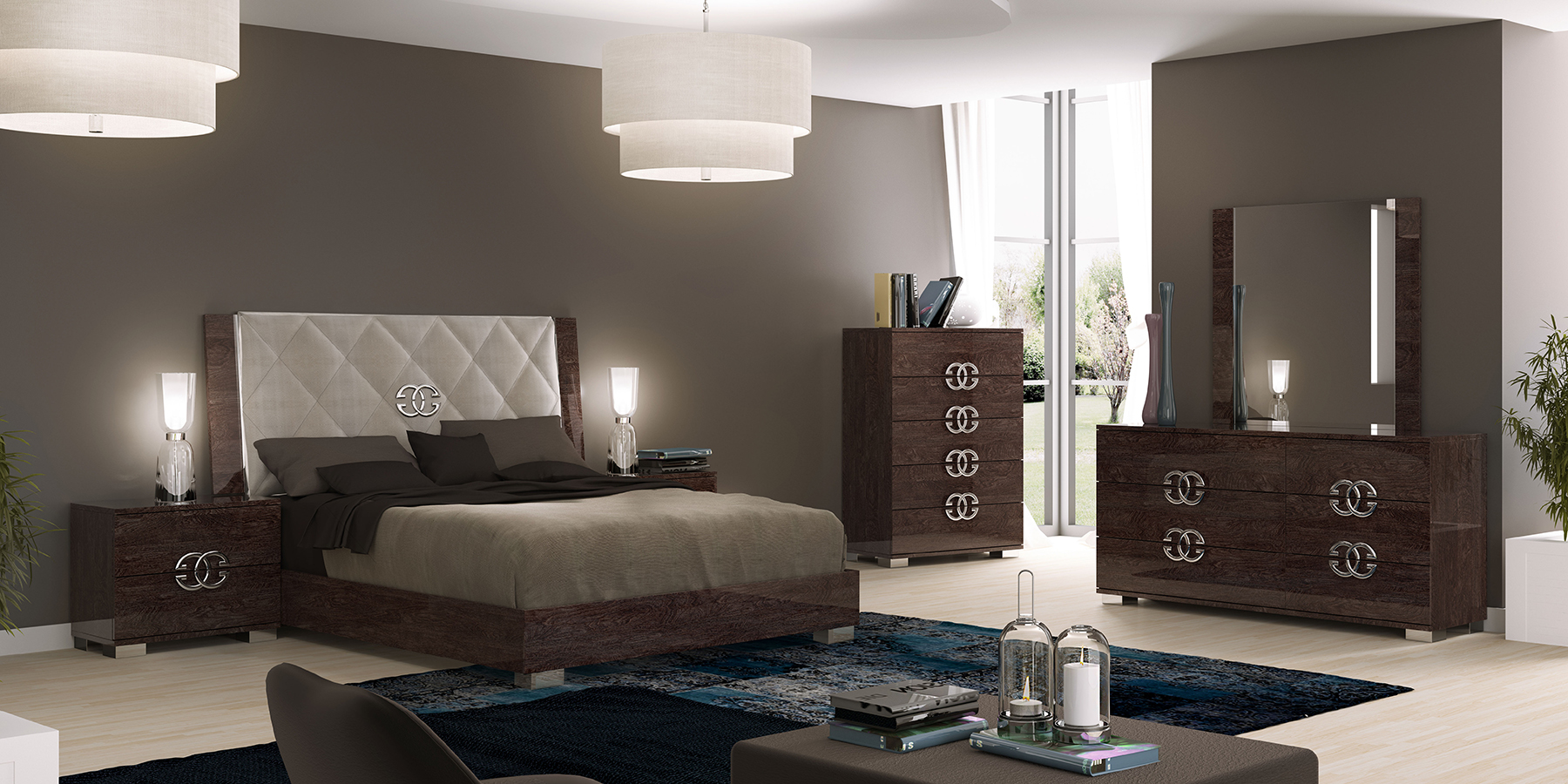 Prestige deluxe modern bedrooms bedroom furniture - Ontharder prestige ...