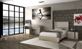 Collections Fenicia  Modern Bedroom Sets, Spain Fenicia Composition 73