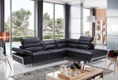 Living Room Furniture Leather Sectionals 2347 Sectional